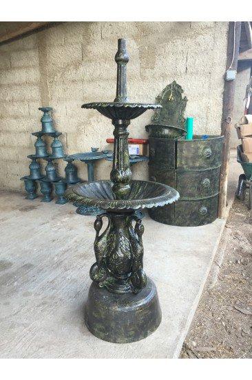 Fontaine en fonte Bronze-Vert