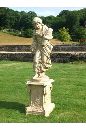 Statue en fonte 4 saisons Pierre