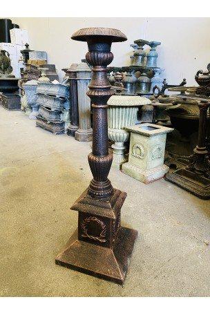 Chandelier en fonte Bronze-Marron