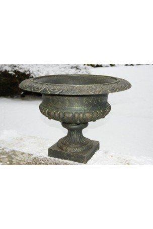 Vasque Médicis en fonte Bronze-Vert