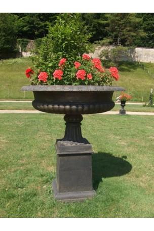 Vasque Médicis en fonte Bronze-Marron